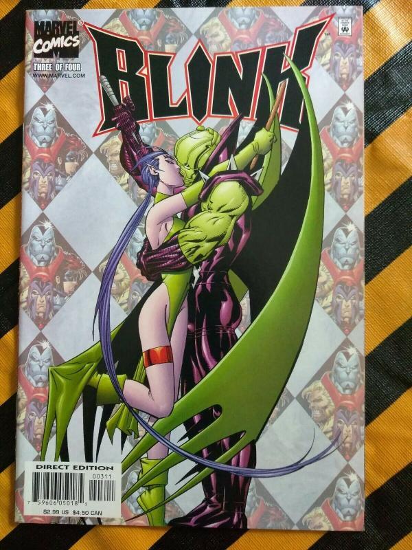 Blink #3 (Marvel 2001) Age Of Apocalypse X-Men Exiles