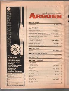 Argosy 3/1967-Vietnam Secret Weapon-Foreign Legion-TV Pro Football-pulp fiction-
