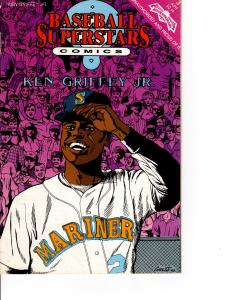 Baseball Superstars Comics Ken Griffey Jr. #3 (1992 Series) APR 1992