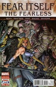 Fear Itself: The Fearless #10 VF/NM; Marvel | save on shipping - details inside