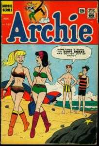 Archie #157 1965- Betty & Veronica swimsuit & ice cream cover G