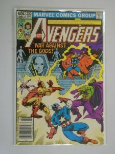 Avengers #220 Newsstand edition 6.0 FN (1982 1st Series)