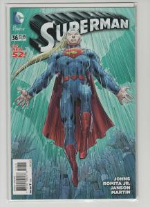 SUPERMAN (2011 DC) #36 NM NM