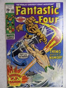 FANTASTIC FOUR # 104 MARVEL SOLID