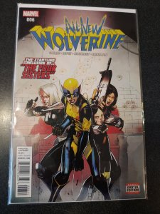 ALL NEW WOLVERINE #6 FIRST PRINT MARVEL COMICS (2016) FOUR SISTERS X-23 GABBY