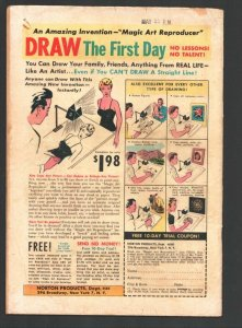 Kilroys #36 1952-ACG--Swim team tryout gag cover-Moronica-Miss Nit-wit of 195...
