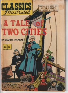 Classic Illustrated #6  A Tale of Two Cities(1942)