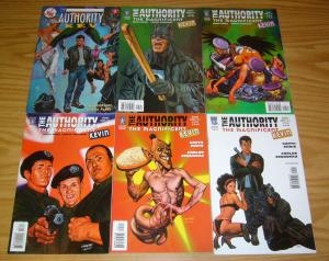 the Authority: Magnificent Kevin #1-5 VF/NM complete series + kev #1 garth ennis