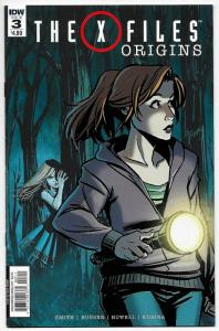 X Files Origins #3 (IDW, 2016) NM