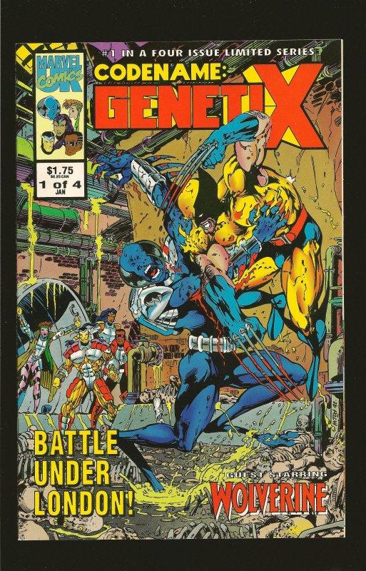 Marvel Comics Codename: Genetix (UK) #1 January (1993)