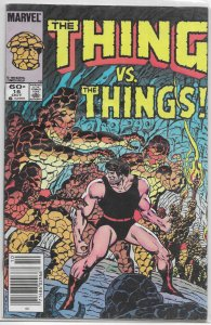 Thing   vol. 1   #16 VG (Rocky Grimm Space Ranger 6)