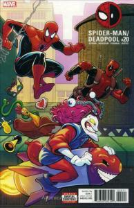 Spider-Man/Deadpool #20 VF/NM; Marvel | save on shipping - details inside