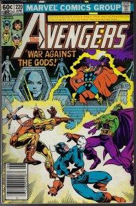 Avengers #220 (Marvel, 1982) F
