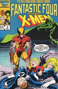 Fantastic Four vs. X-Men #2 VF/NM; Marvel | save on shipping - details inside