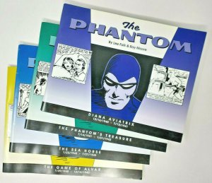 The Phantom Reprints Game of Alvar, Sea Horse, Phantom Treasure, Diana Aviatrix