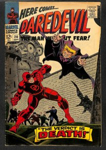 Daredevil #20 VG+ 4.5 Marvel Comics