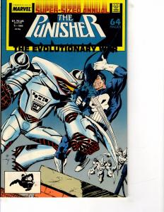 Lot Of 2 Marvel Comic Books Punisher Annual #1 2 BH52