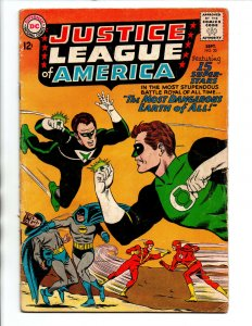 Justice League of America #30 - 2nd app Crime Syndicate - KEY - 1964 - VG/FN