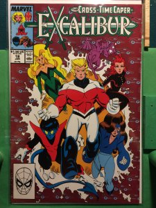 Excalibur #18 The Cross-Time Caper