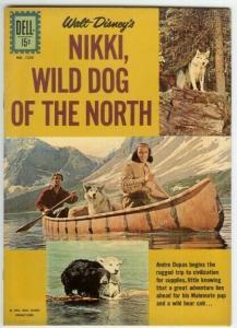 NIKKI WILD DOG OF THE NORTH (1961 DELL) F.C.1226 F+ DEL COMICS BOOK
