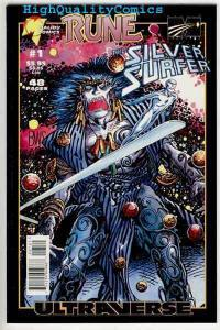 SILVER SURFER / RUNE #1, NM, Barry Smith, Vampire,1995