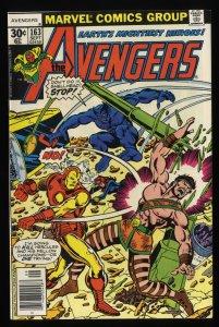Avengers #163 VF+ 8.5 Marvel Comics Thor Captain America