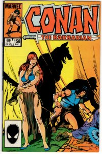 Conan The Barbarian #158 (VF+) No Reserve! 1¢ auction!