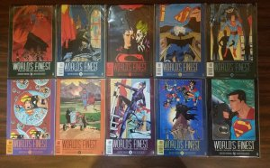 Batman & Superman World's Finest 1-10 Complete Set Run! ~ NEAR MINT NM ~ 1999