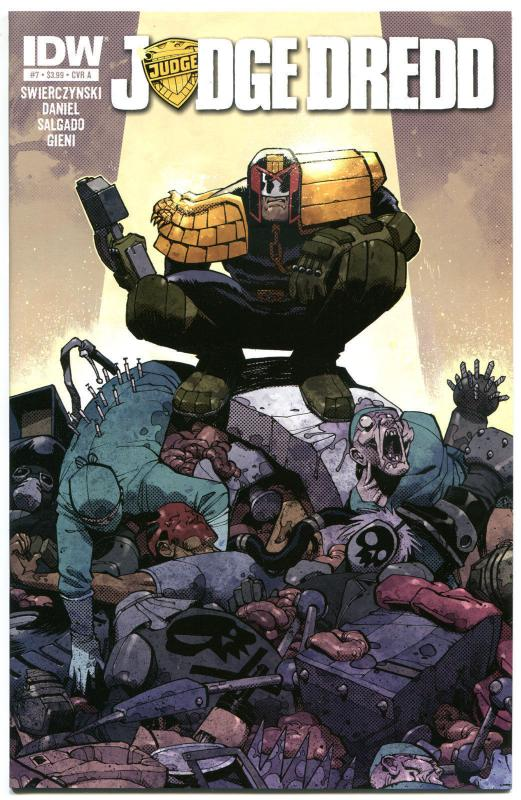 JUDGE DREDD #7, NM, IDW,  2012, Sci-fi, Police, I am the Law, more in store