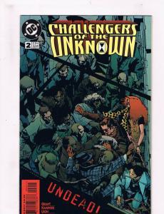 Challengers Of The Unknown #2 FN DC Comics Comic Book Mar 1997 DE36