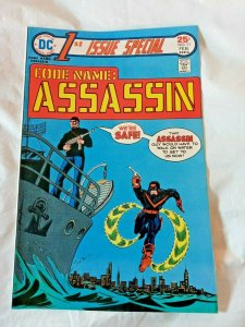 1st Issue Special Comic Book #11 Code Name: Assassin DC Comics 1976 FN+