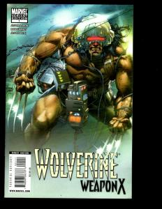 Lot Of 13 Wolverine Weapon X Marvel Comics # 1 2 3 4 5 6 8 9 10 11 13 15 16 SM5