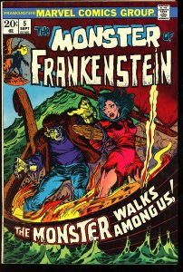 The Frankenstein Monster #5 (1973)