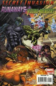 Secret Invasion: Runaways/Young Avengers #1 FN; Marvel | save on shipping - deta