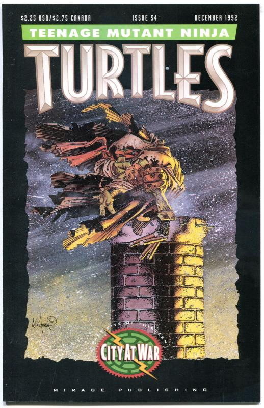 TEENAGE MUTANT NINJA TURTLES #54 55 56 57, NM-, 1984, 1st, Kevin Eastman, TMNT