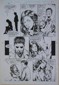 PHIL JIMENEZ / RAY KRYSSING original art, ROBIN #11 pg 9, 11x17, 1994
