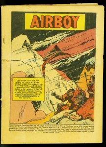 Airboy Vol 6 #5 1949- Flying Fool- Reading copy