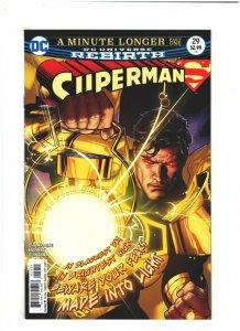 Superman #29 NM- 9.2 DC Comics Rebirth 2017 Ryan Sook Variant, Sinestro