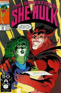 Sensational She-Hulk, The #28 FN; Marvel | save on shipping - details inside