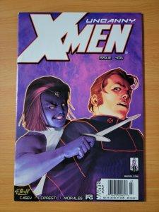 Uncanny X-Men #406 Newsstand Variant ~ NEAR MINT NM ~ 2002 Marvel Comics