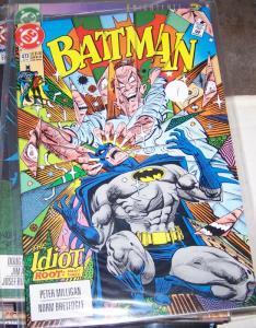 Batman #473 1992 DC COMICS  the idiot  pt 3 robin tim drake bruce wayne BRONZE