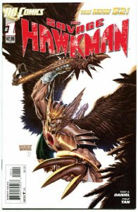 SAVAGE HAWKMAN #1, VF+, Tony Daniel, Philip Tan, 2011, more DC in store