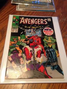 Avengers 54 VG+ 1st cameo of Ultron (July 1968)