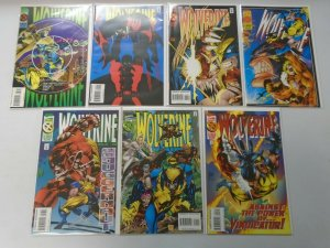 Wolverine comic lot 39 different from #50-95 8.0 VF (1992-95 1st Series)
