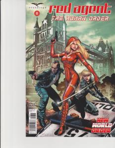 Red Agent Human Order #8 Cover A Zenescope Comic GFT NM Chen