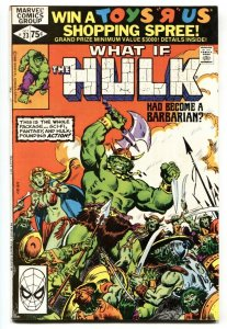 What If #23 comic book Barbarian HULK-Marvel Comic