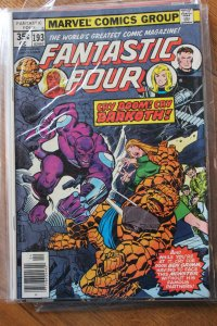 FANTASTIC FOUR #193 (Marvel,1978) Condition FN