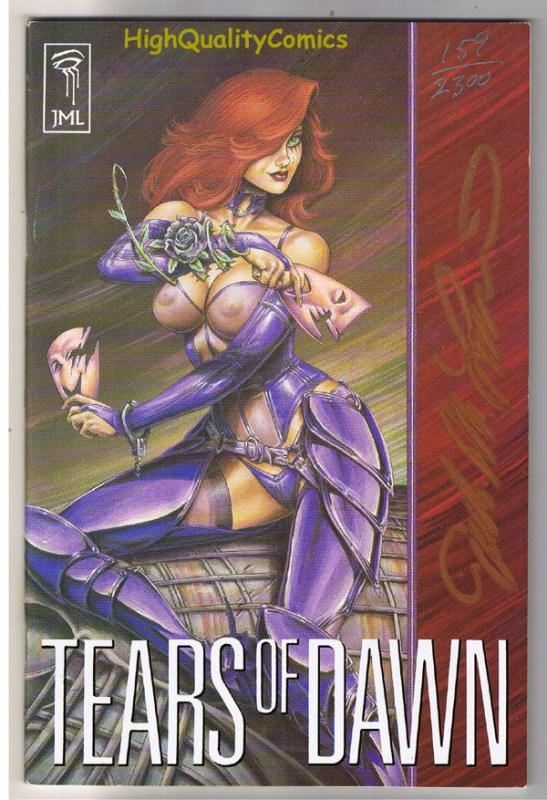 TEARS OF DAWN #1, VF+, Joseph Linsner, Signed, Numbered, Limited