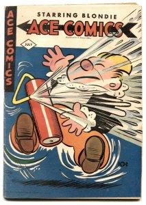 Ace Comics #100 1945- Phantom- Jungle Jim VG-
