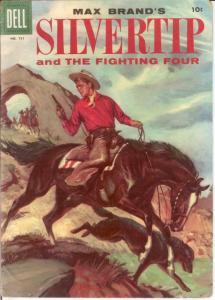 SILVERTIP F.C. 731 VG  1956 COMICS BOOK